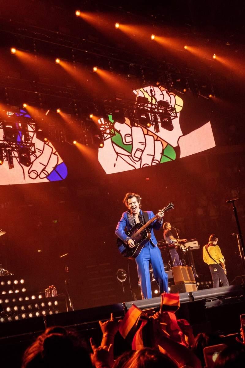 Bridgestone Arena, section: GA PIT