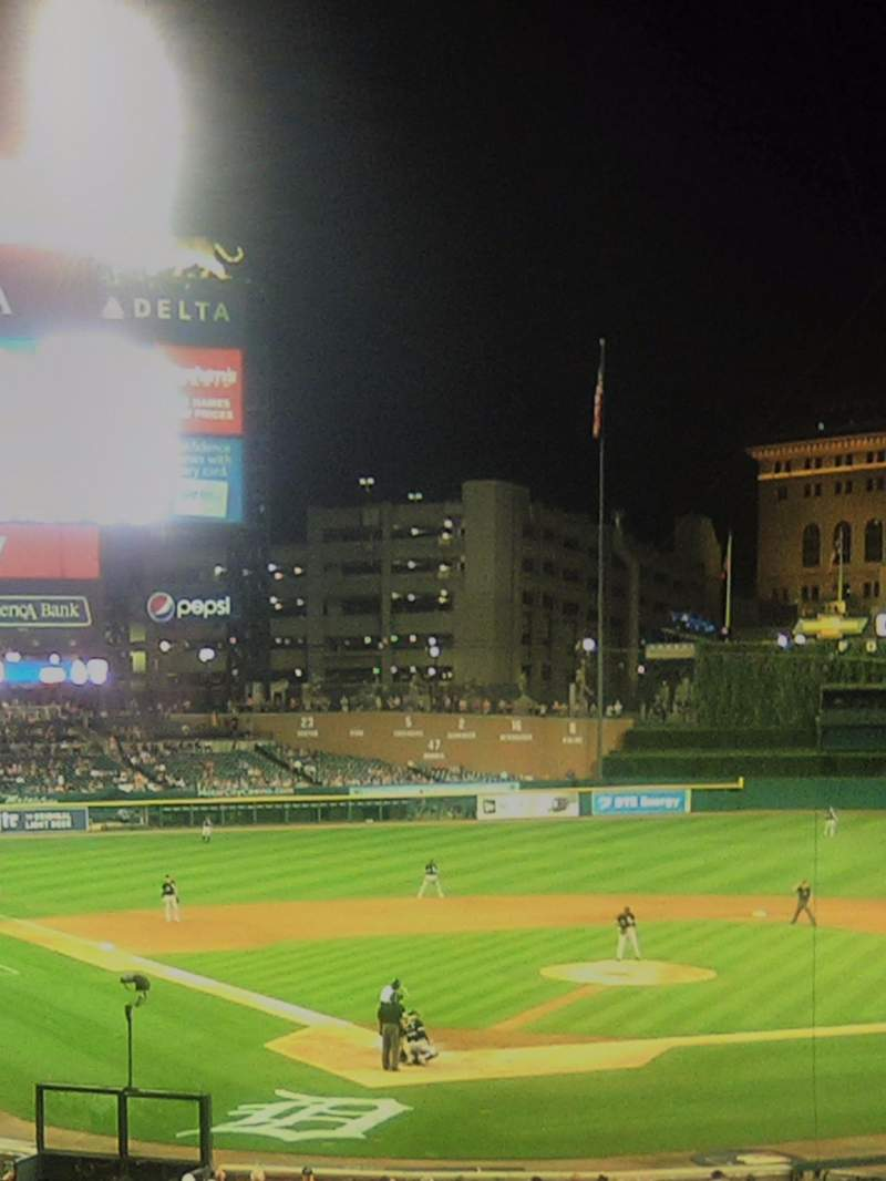 Seating view for Comerica Park Section 126 Row E Seat 3