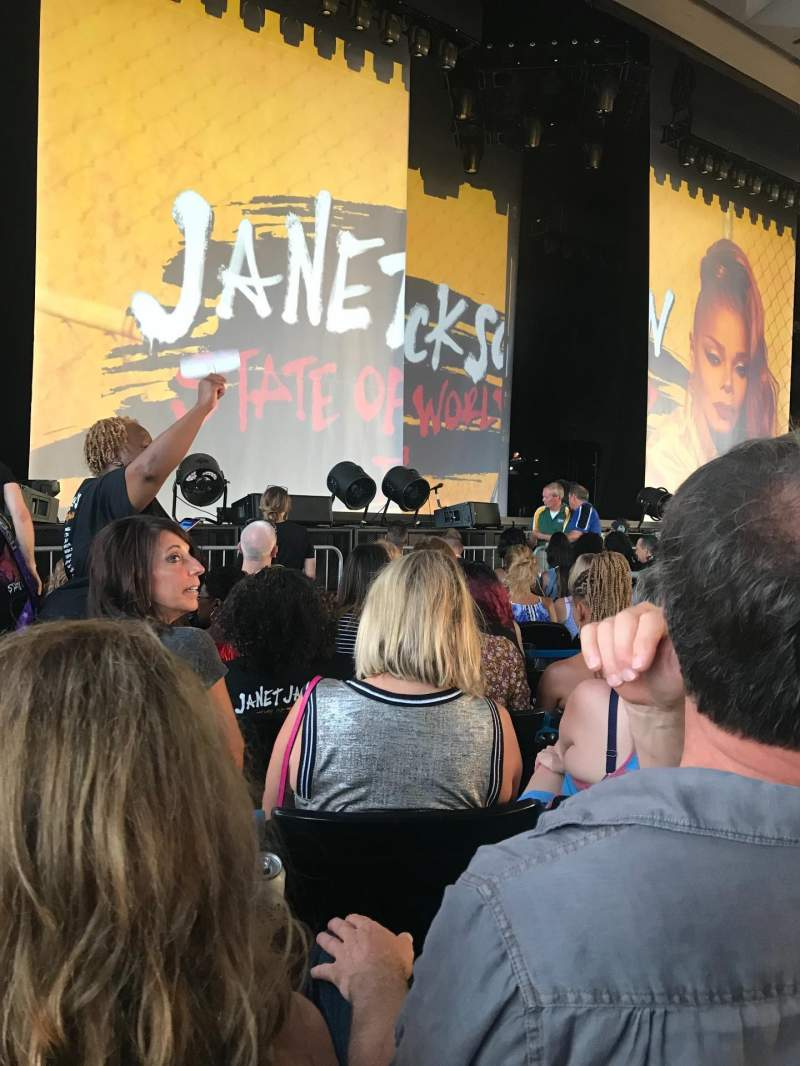 Riverbend Music Center, section: 100, row: Aisle E, seat: 106