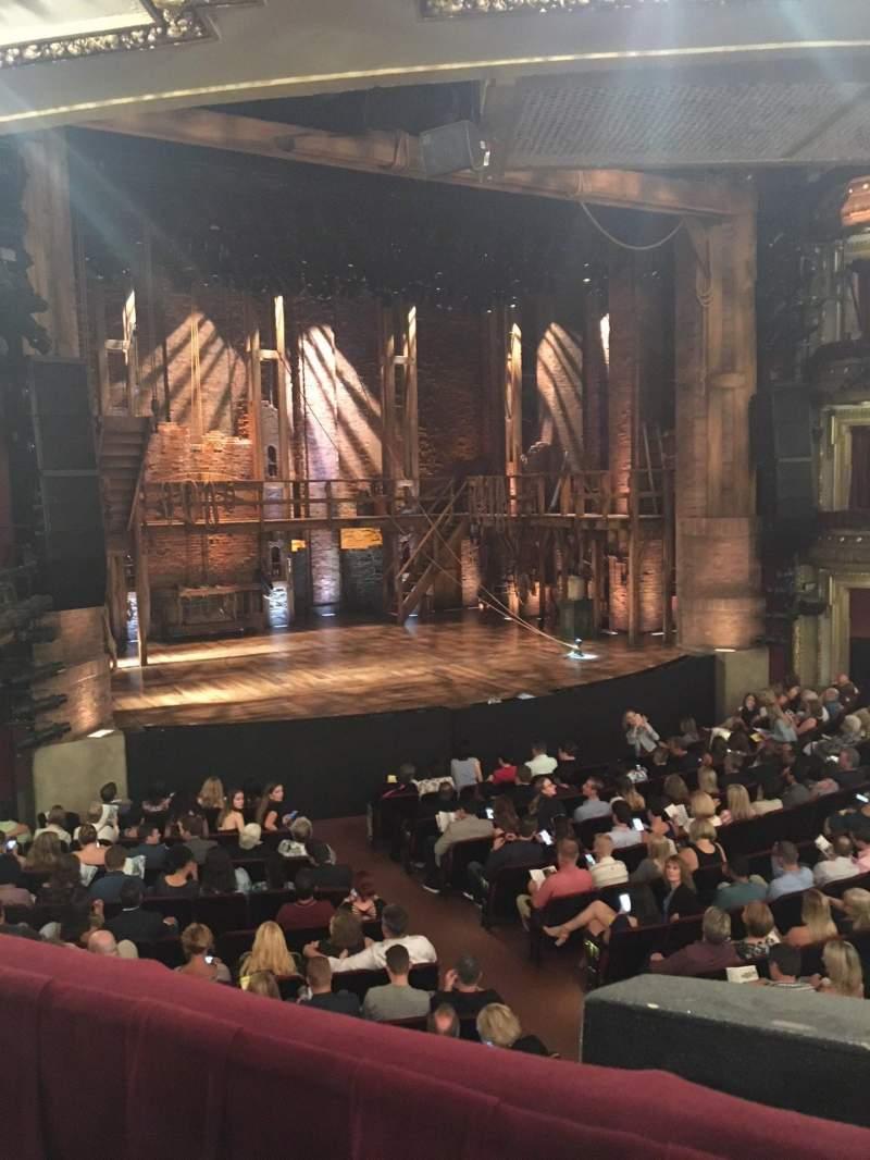 CIBC Theatre, section: Dress Circle L, row: A, seat: 3
