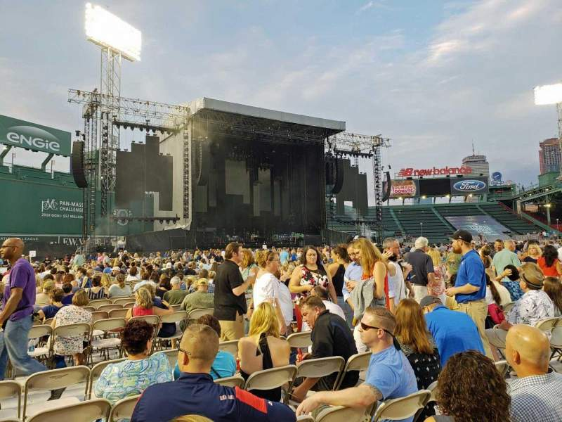 Seating view for Fenway Park Section C7 Row 6 Seat 8