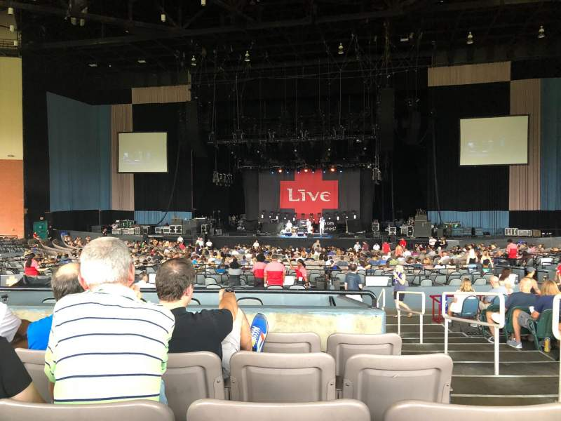 Seating view for Xfinity Theatre Section 600 Row NN Seat 602