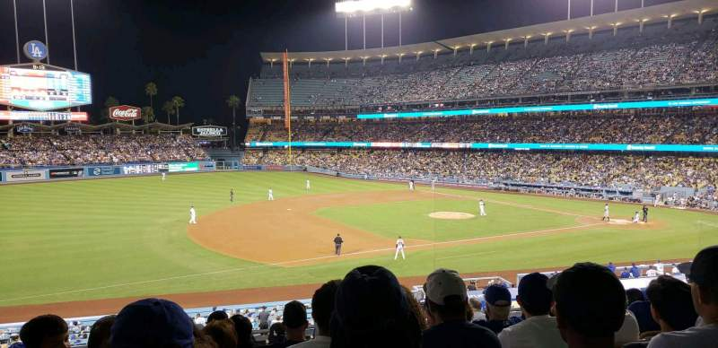 Dodger Stadium, section: 141LG, row: J, seat: 8