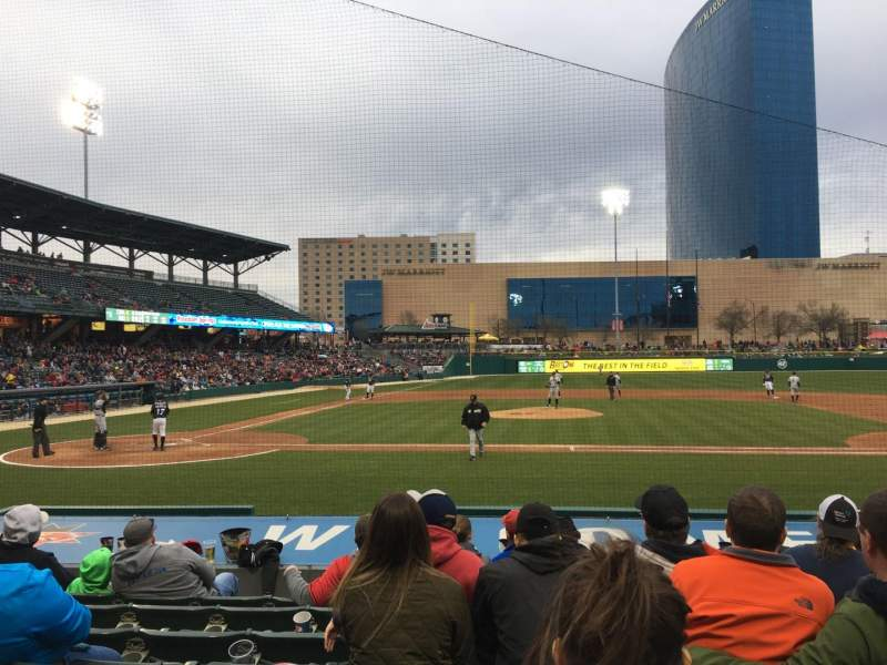 Victory Field, section: 115, row: E, seat: 16