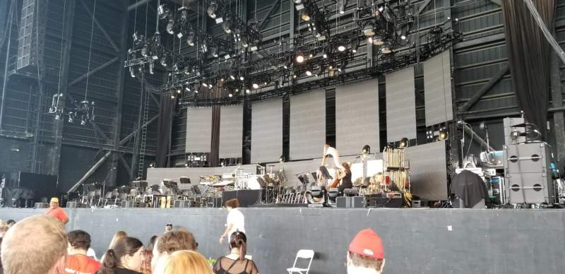 MidFlorida Credit Union Amphitheatre, section: Orchestra 3, row: N, seat: 19