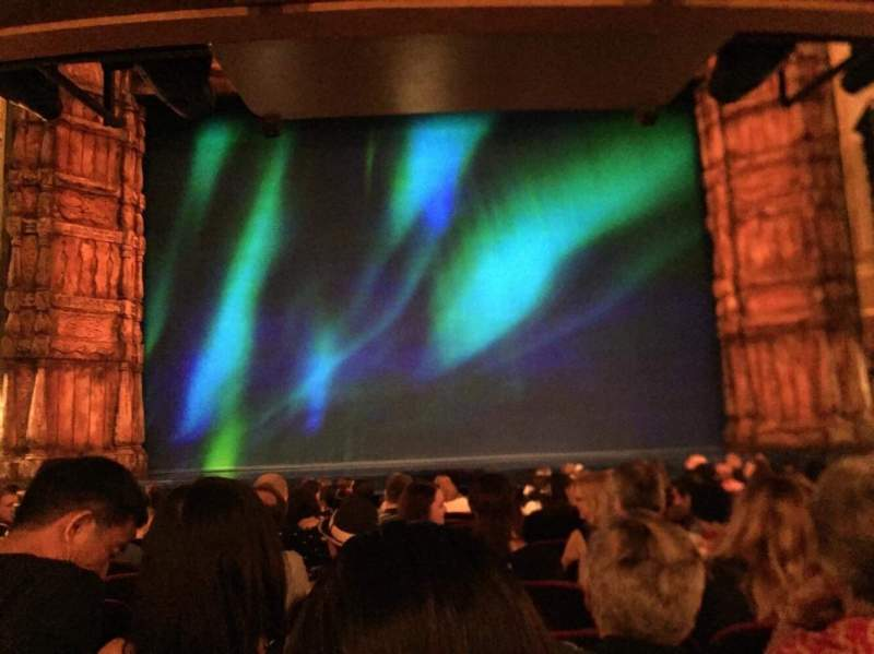 St. James Theatre, section: Orch, row: M, seat: 109
