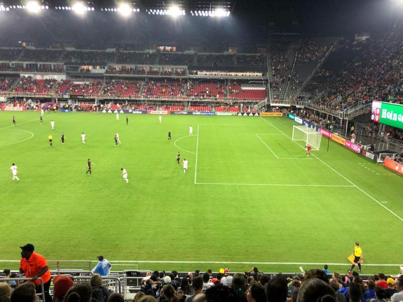 Audi Field, section: 124, row: 16, seat: 19