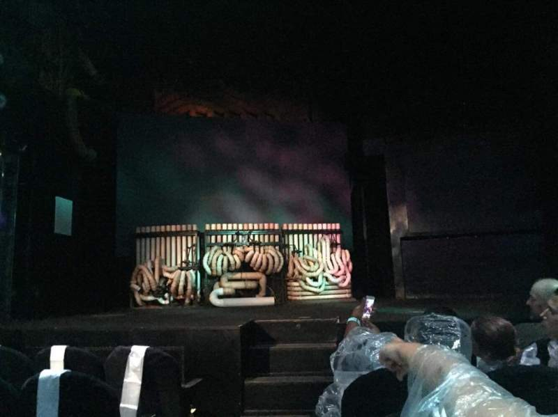 Seating view for Astor Place Theatre Section Orch Right Row EE Seat 102