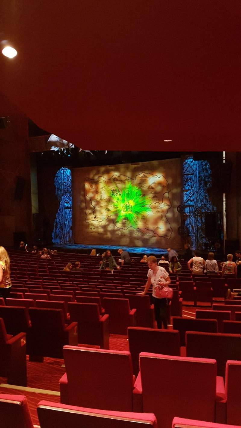 Seating view for Bord Gáis Energy Theatre Section Stalls Row U Seat 47