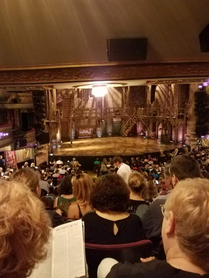 Richard Rodgers Theatre, section: Orchestra Left, row: T, seat: 9