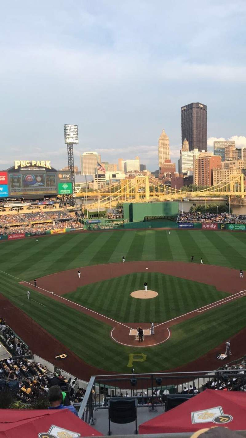 Seating view for PNC Park Section 316 Row B Seat 9