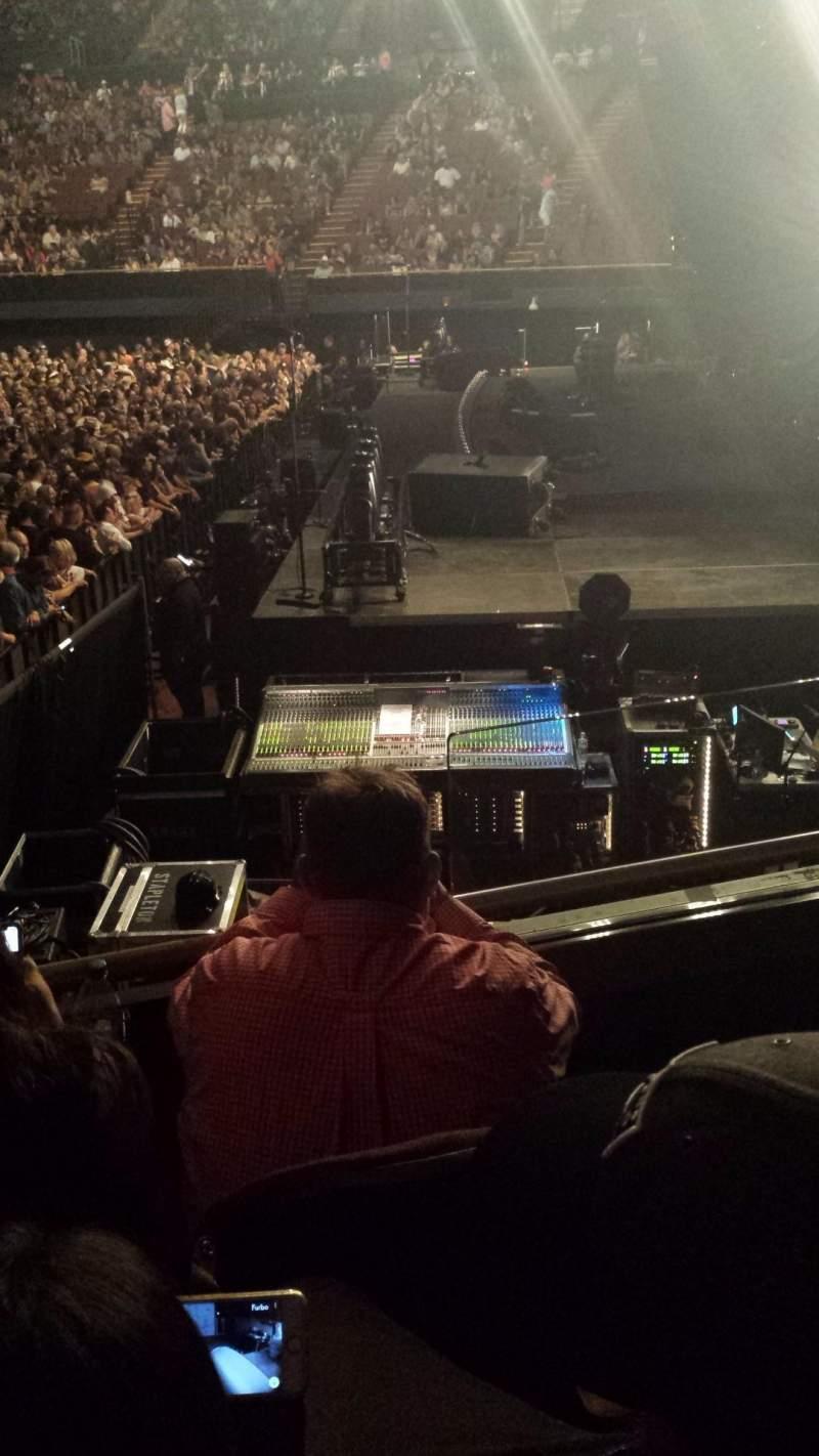 The Forum, section: 113, row: 3, seat: 8