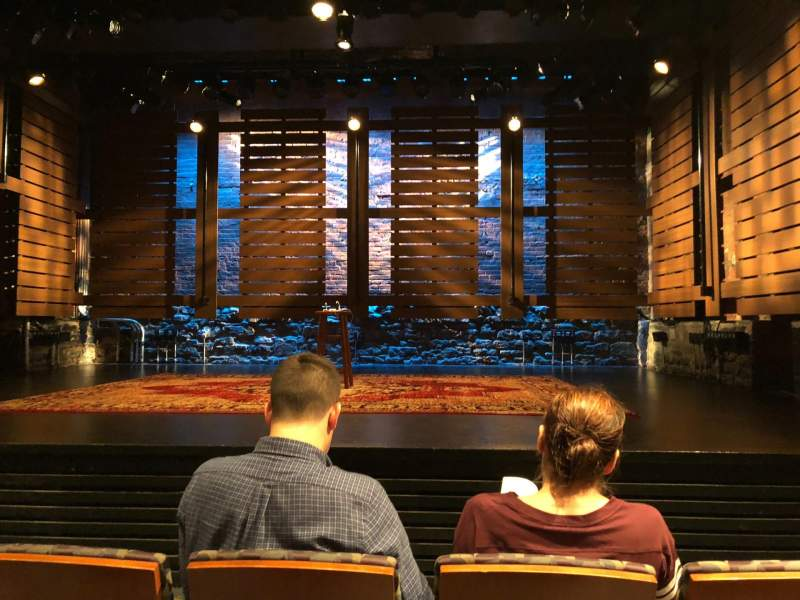 Seating view for Cherry Lane Theatre Section Orch Row C Seat 6