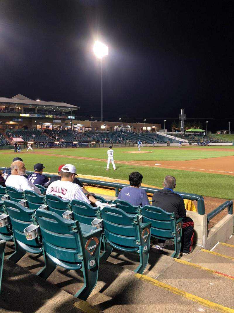 Seating view for FirstEnergy Park Section 102 Row 7 Seat 21