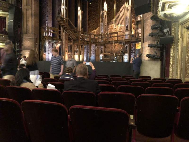 Seating view for CIBC Theatre Section Orchestra R Row K Seat 20
