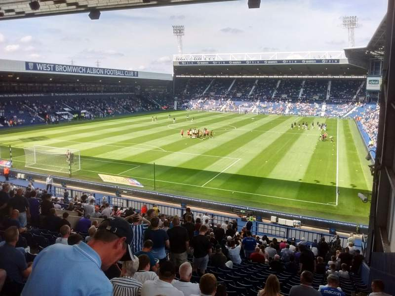 Seating view for The Hawthorns Section A1 Row PP Seat 4