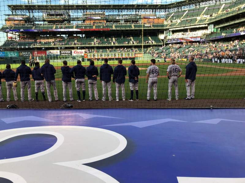 Seating view for Coors Field Section 137 Row 5 Seat 10