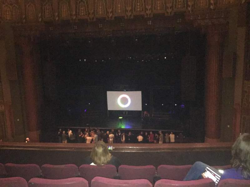Seating view for The Wiltern Section Loge Row DD Seat 120