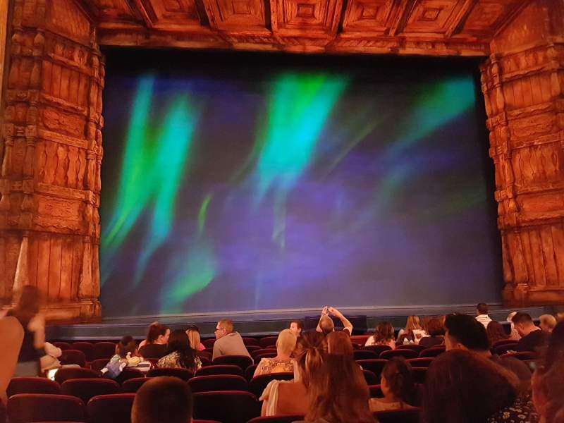Seating view for St. James Theatre Section Orchestra C Row K Seat 112