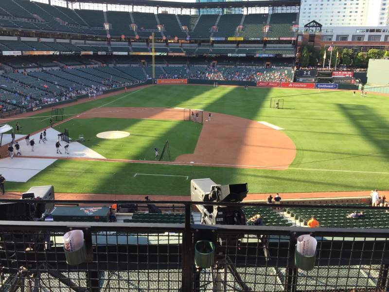 Seating view for Oriole Park at Camden Yards Section 220 Row 2 Seat 3