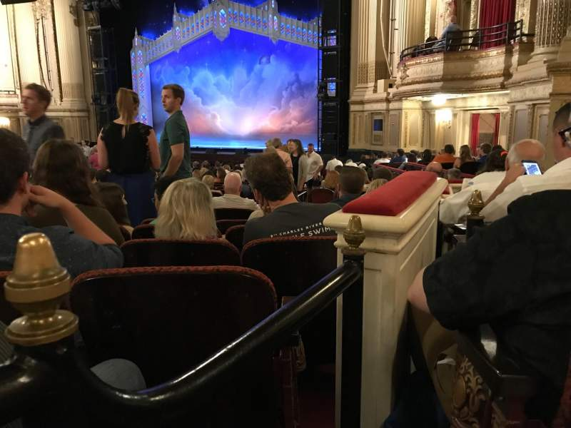 Seating view for Citizens Bank Opera House Section ORCBXR Row S Seat 50