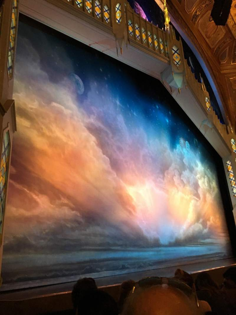 Seating view for Eugene O'Neill Theatre Section Orchestra L Row D Seat 15