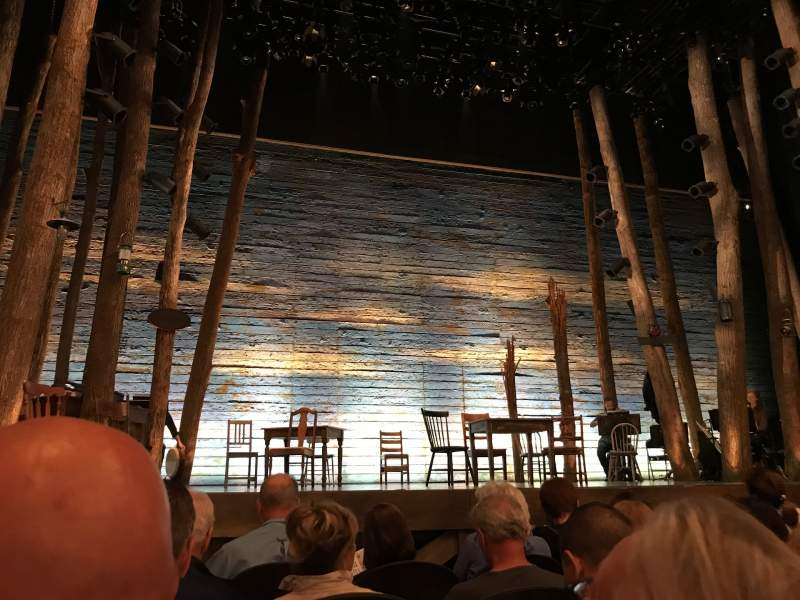 Seating view for Gerald Schoenfeld Theatre Section Orchestra Row D Seat 101