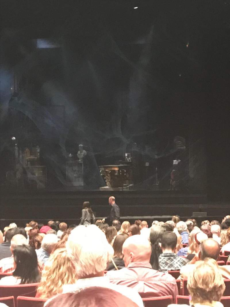 Seating view for San Diego Civic Theatre Section Orchestra 2 Row R Seat 28