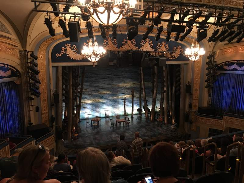 Seating view for Gerald Schoenfeld Theatre Section Mezzanine L Row K Seat 9