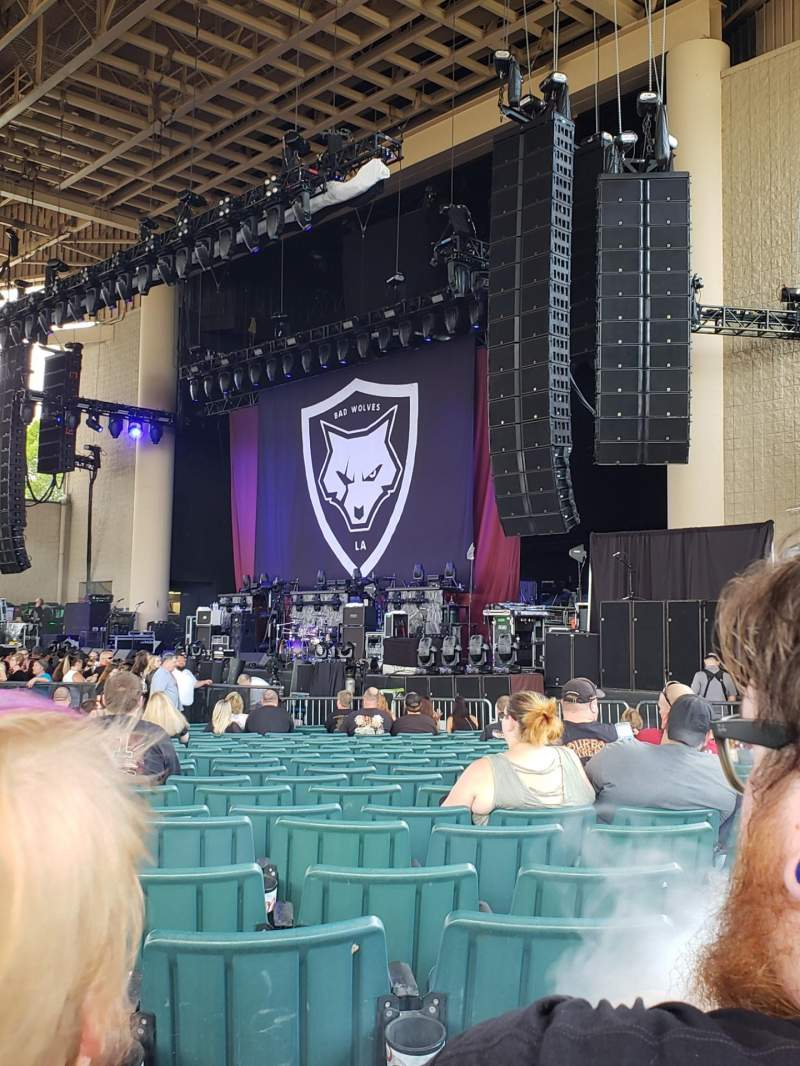 Seating view for Ruoff Home Mortgage Music Center Section C Row Cc Seat 24
