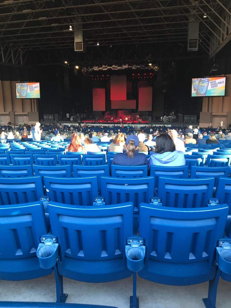 Seating view for Sunlight Supply Amphitheater Section 203 Row Z Seat 7