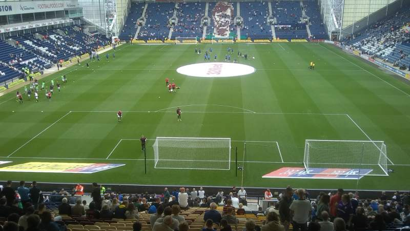 Seating view for Deepdale Section N Row 38 Seat 78
