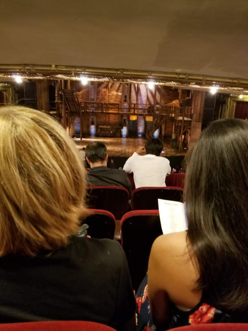 Seating view for CIBC Theatre Section Dress Circle RC Row D Seat 207