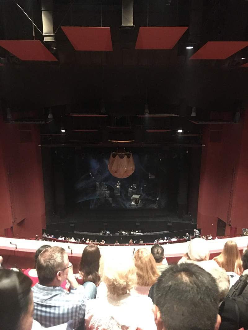 Seating view for San Diego Civic Theatre Section Balcony l Row T Seat 1