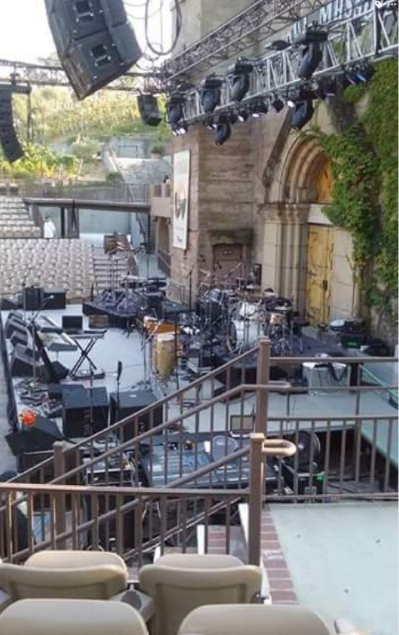 Seating view for Mountain Winery Section 21 Row D Seat 1and2