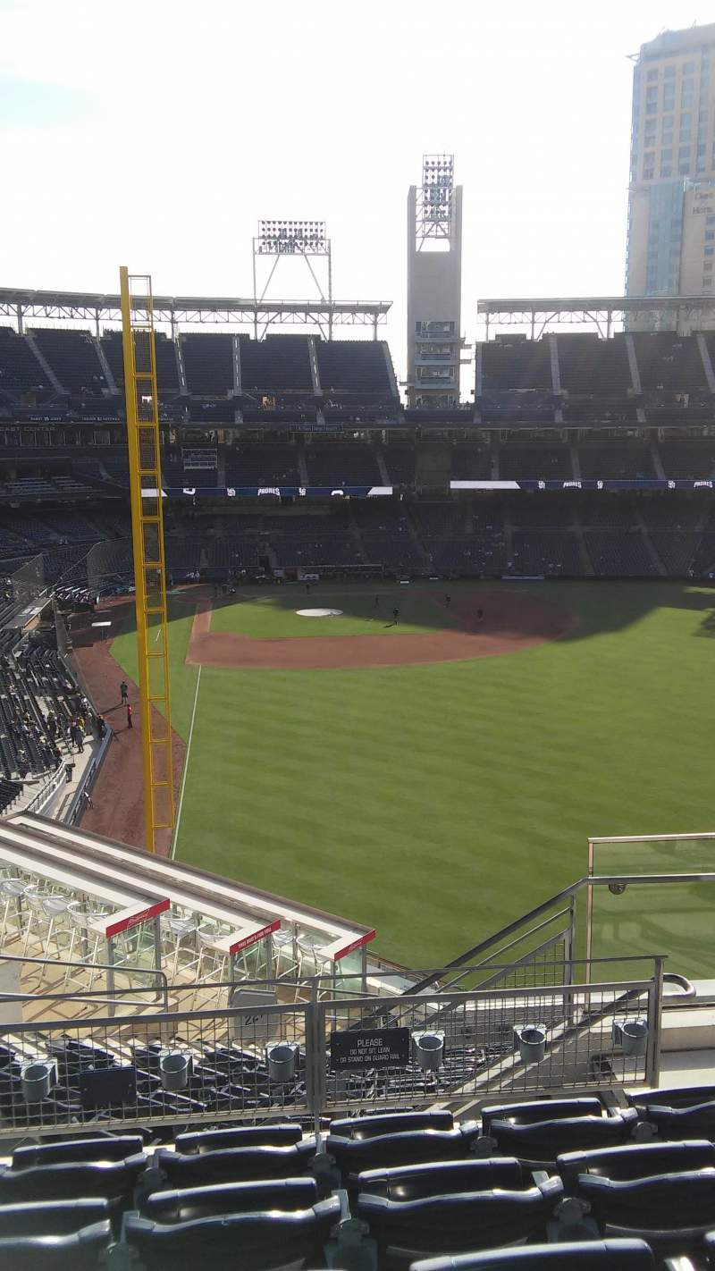 Seating view for PETCO Park Section 227 Row 14 Seat 4