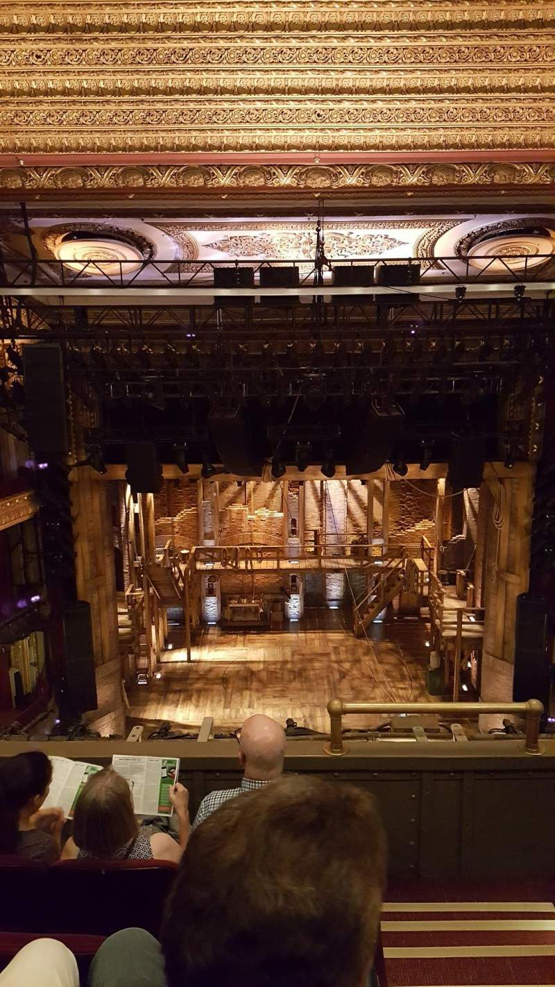 Seating view for CIBC Theatre Section Balcony LC Row D Seat 401