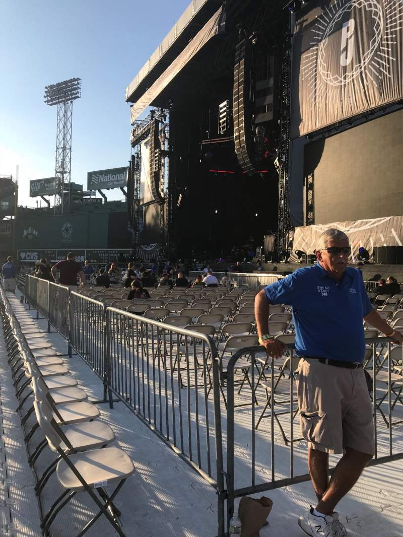 Seating view for Fenway Park Section A1 Row 14 Seat 28
