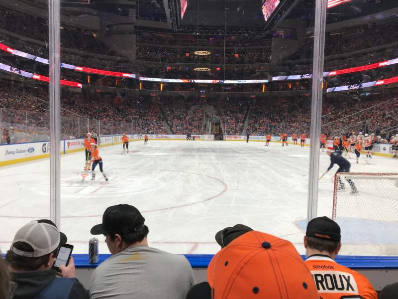 Seating view for Rogers Place Section 112 Row 3 Seat 5