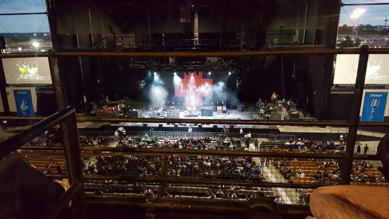 Seating view for Hollywood Casino Amphitheatre (Tinley Park) Section Suite 211 Row 2 Seat Aisle