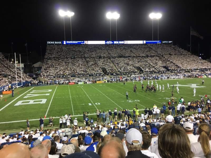 LaVell Edwards Stadium, section 8, row 24, seat 30 - BYU