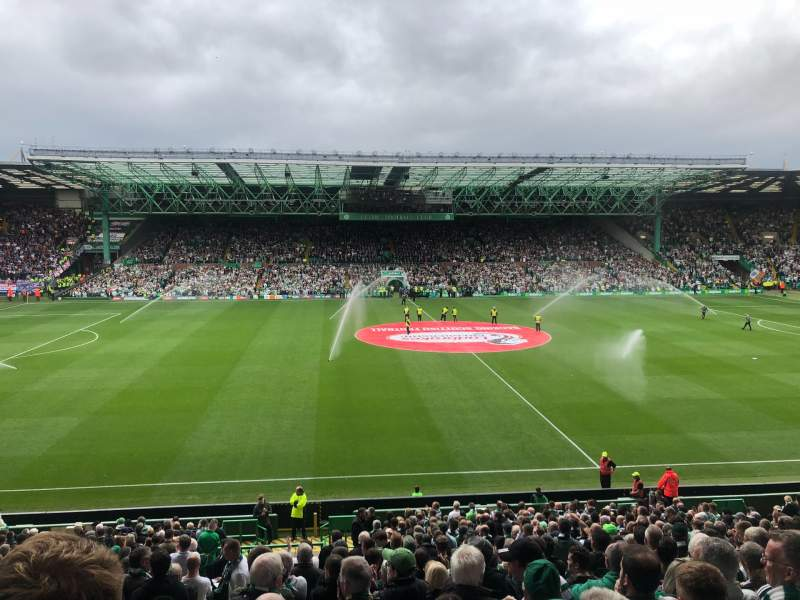Seating view for Celtic Park Section 106 Row DD Seat 9