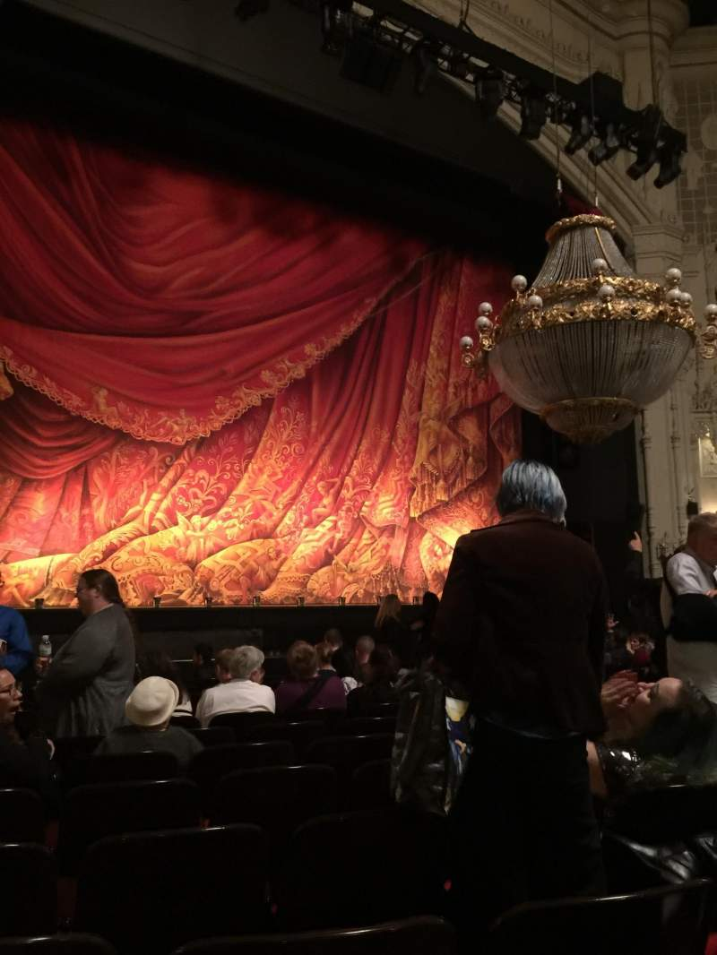 Seating view for Orpheum Theatre (San Francisco) Section Orchestra LC Row M Seat 123
