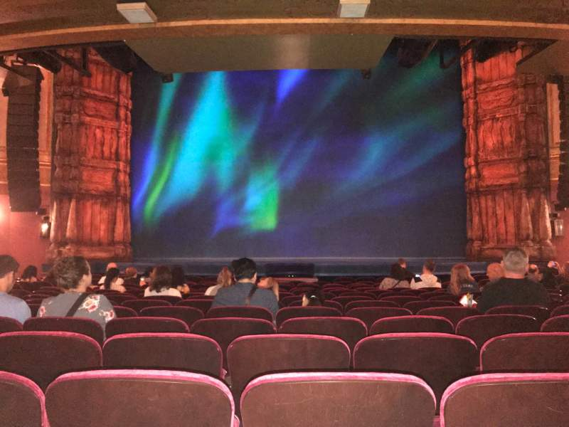 Seating view for St. James Theatre Section Orchestra L Row O  Seat 7