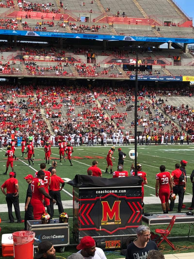 Seating view for Maryland Stadium Section 24 Row J Seat 29