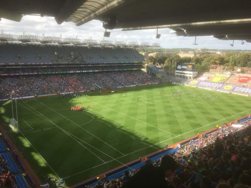 Seating view for Croke Park Section 712 Row W Seat 12