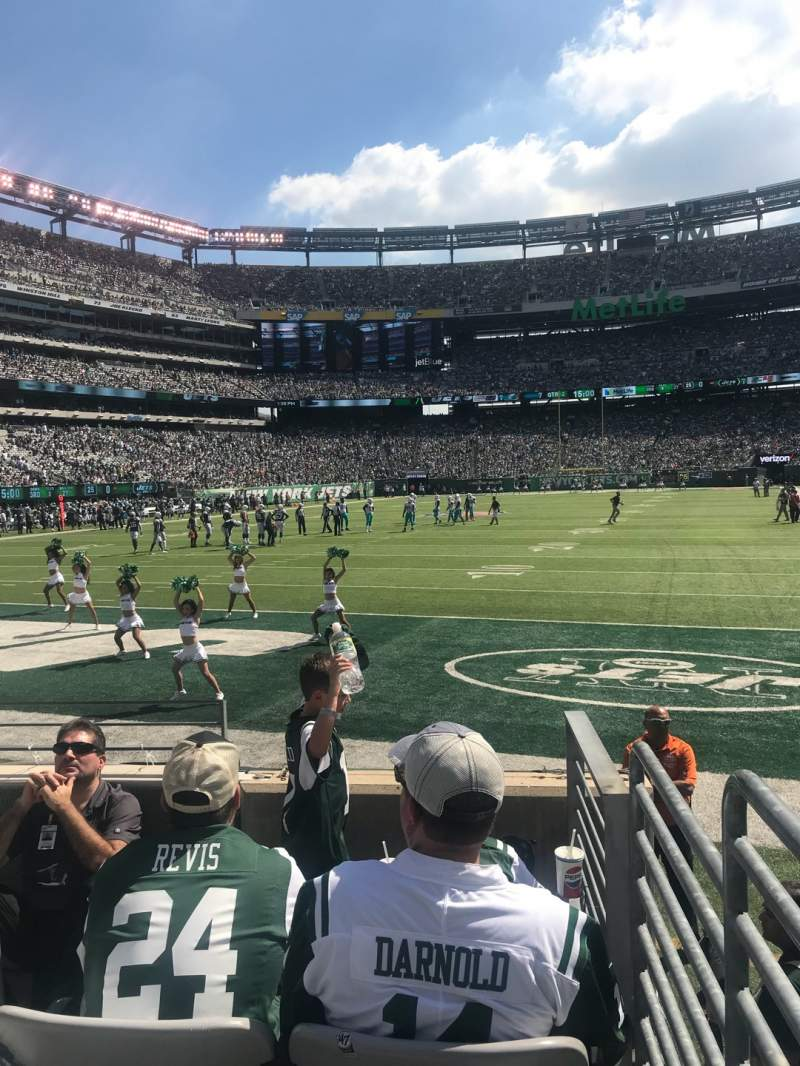 Seating view for MetLife Stadium Section 148 Row 5 Seat 20