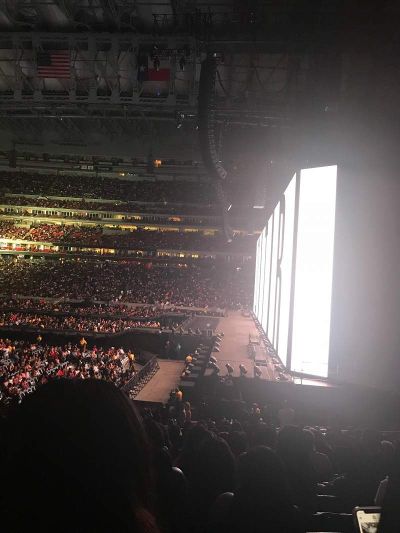 Seating view for NRG Stadium Section 123 Row Z Seat 21