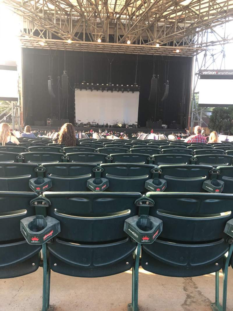 Seating view for Ameris Bank Amphitheatre Section 103 Row N Seat 30