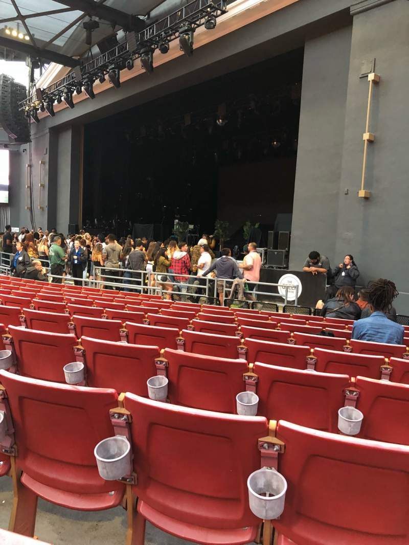 Seating view for The Greek Theatre Section A Row K Seat 46